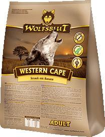 Wolfsblut Western Cape Adult - Strauß mit Banane (2 kg)