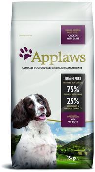 applaws-adult-small-medium-huhn-lamm-15kg-hundefutter-getreidefrei