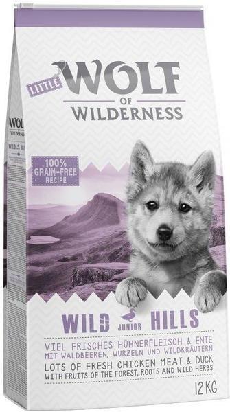 Wolf of Wilderness Junior Wild Hills Ente 12 kg