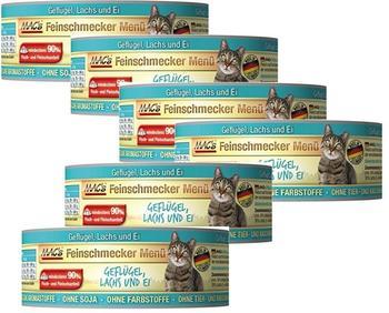MACs | Feinschmecker Geflügel Lachs 6 x