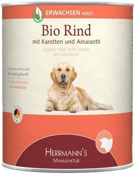 Herrmans Bio Rind mit Karotten und Amaranth (800 g)