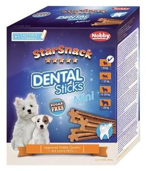 "Nobby Starsnack ""Dental Sticks"" Puppy und Small Dogs, Monatspack mini, 6er Pack (6 x 252 g)"