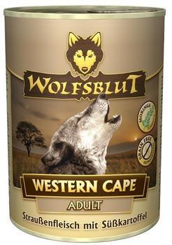 Wolfsblut Western Cape Adult mit Straußenfleisch Nass 395g