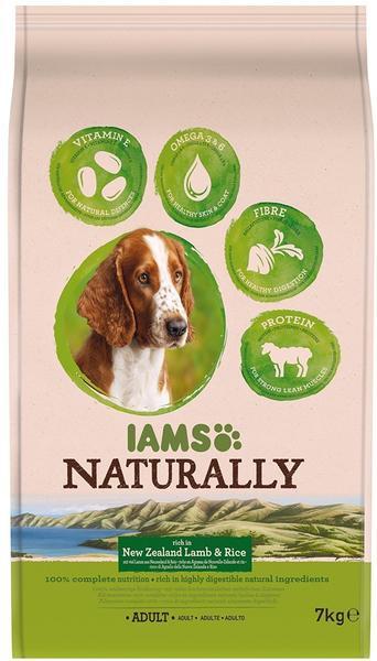 Iams Naturally Adult Lamm 7 kg