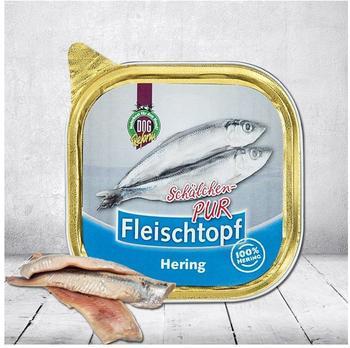 Schecker DOGREFORM Fleischtopf-Schälchen-PUR Hering 3 x 200 g