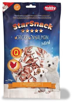 Nobby STARSNACK MINI Chicken n Salmon 70 g