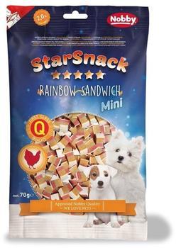 Nobby STARSNACK MINI Rainbow Sandwich 70 g