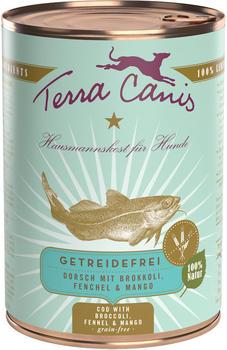 Terra Canis Dorsch mit Brokkoli, Fenchel & Mango 400 g