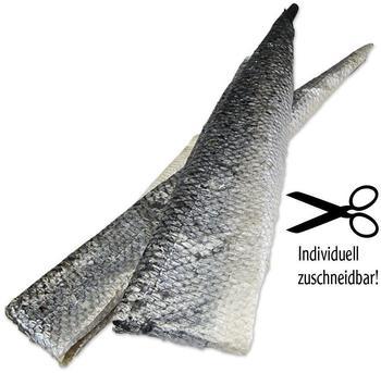Schecker Lachshaut XXL frisch-getrocknet, 150g (Hundekauartikel, Hundesnack, Hundeleckerlie)