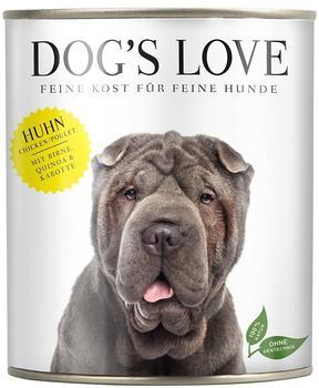 DOGS LOVE Classic Huhn mit Birne, Quinoa & Karotte - 6x800g