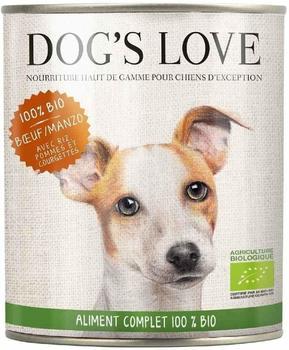 Dog`s Love Bio Rind, Reis, Apfel, Zucchini (400 g)