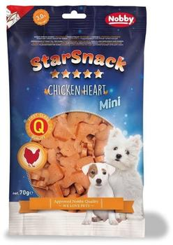 Nobby STARSNACK MINI Chicken Heart 70 g