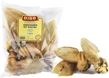 DIBO Rinderohren mit Muschel, 5 Stück