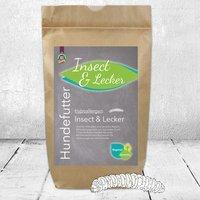 Schecker Hypoallergen Insect&Lecker & 12 kg - (Hundefutter, Trockenfutter