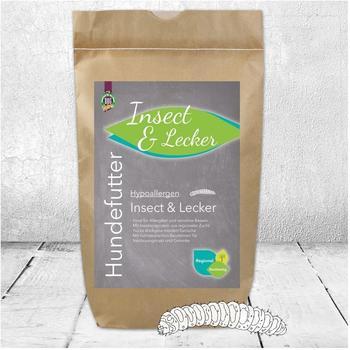 Schecker Dogreform Hypoallergen Insect & Lecker 3 kg getreidefreies Trockenfutter ideal für Allergiker und sensitive Hunde mit nutrizeutischen Bausteinen für Verdauungstrakt und Gelenke