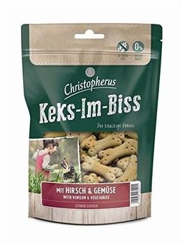 Allco Christopherus Keks-Im-Biss mit Hirsch & Gemüse 175 g