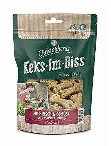 Allco Christopherus Keks-Im-Biss mit Hirsch & Gemüse 175 g (Menge: 6 je Bestelleinheit)