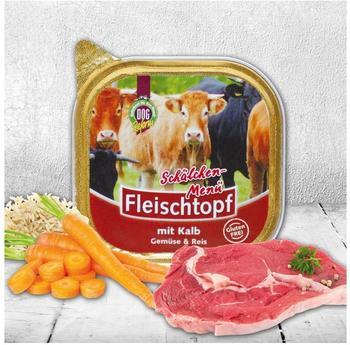 Schecker Dogreform Fleischtopf Kalbsfleisch mit Gemüse (200 g)