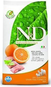 Farmina N&D Grain Free Adult Medium - Fish and orange (12 kg)