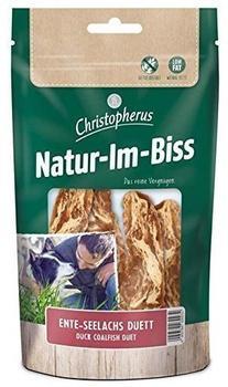 Allco Christopherus Kausticks für Hunde, Ente-Seelachs Duett, Warmluftgetrocknet, Natur-Im-Biss, 70 g
