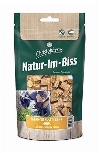 Allco Christopherus Natur-Im-Biss Hähnchen-Seelachs Minis - 12 x 70 g braun