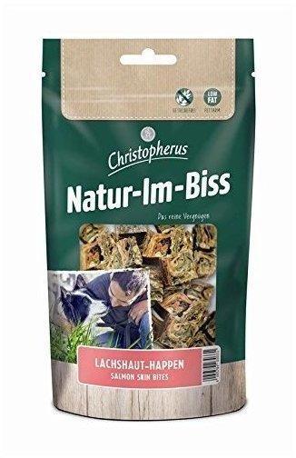 Allco Christopherus Natur-Im-Biss Lachshaut Happen 60g