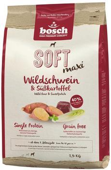 bosch Soft Maxi Wildschwein & Süßkartoffel (2,5 kg)