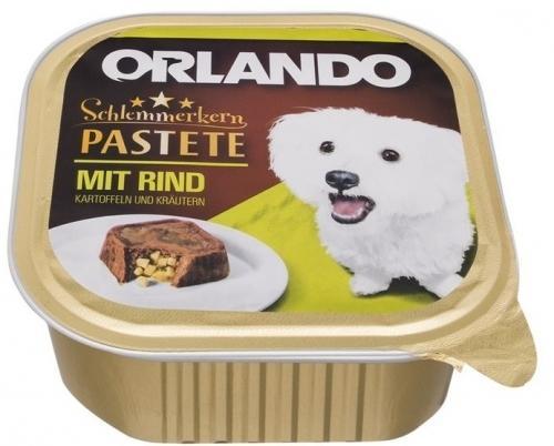 Orlando Schlemmerkern Pastete mit Rind Kartoffeln und Kräutern