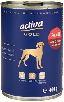 Activa Gold Huhn + Rind mit Reis + Kartoffel