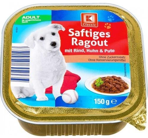 K-Classic Saftiges Ragout mit Rind, Huhn & Pute