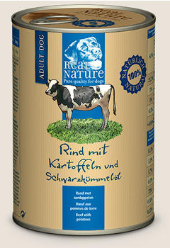 Real Nature Rind mit Kartoffeln und Schwarzkümmelöl