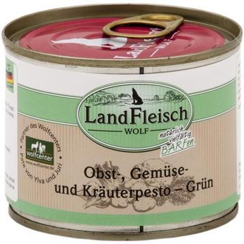Landfleisch Wolf Obst-gemüse und Kräuterpestogrün 200g