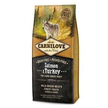 Carnilove Salmon & Turkey for adults (12 kg)