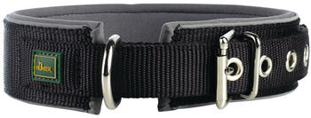 hunter-halsband-neopren-reflect-gr55-schwarz-grau