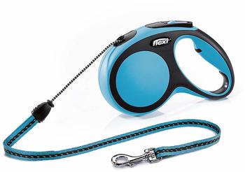 Flexi New Comfort M Cord 8 m blue