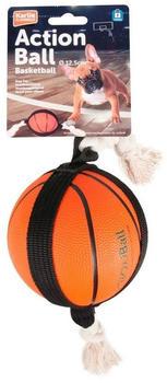 Karlie Action Ball für Hunde, Fussball oder Basketball klein 12,5 cm