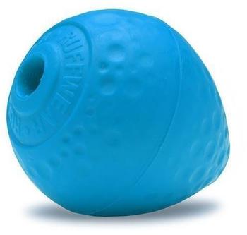 Ruffwear Hundespielzeug Turnup? Ball für Hunde, Metolius Blue / 6 x 8 cm