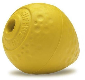 Ruffwear Hundespielzeug Turnup? Ball für Hunde, Dandelion Yellow / 6 x 8 cm