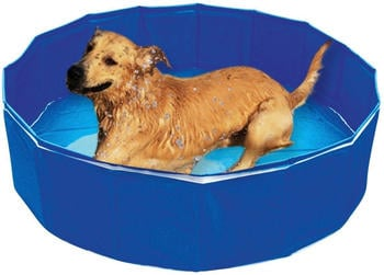 Heim Swimmingpool Outdoor Dog Blau 120 x 30 cm