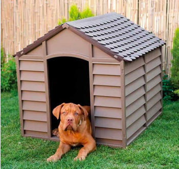 Starplast Plastic dog Kennel (86x84.5x82)