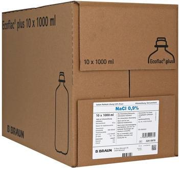 B. Braun Kochsalzloesung 0,9% Ecoflac Plus (10 x 1000 ml)