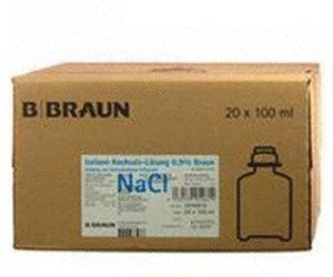 B. Braun Kochsalzloesung 0,9% Ecoflac Plus (20 x 100 ml)