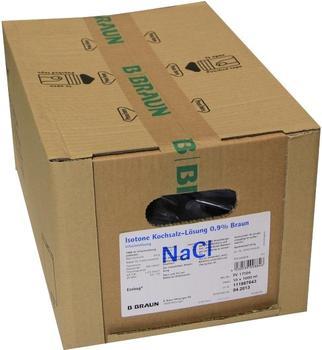 B. Braun Natriumchlorid Lsg. 0,9% Braun Ecobag 10 x 1000 ml