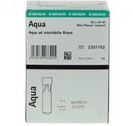 B. Braun Aqua Ad Injectabilia Miniplasco Connect Ampullen (20 x 20 ml)