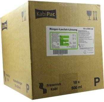 Fresenius RINGER LACTAT Lösung Plastik (10x500 ml)