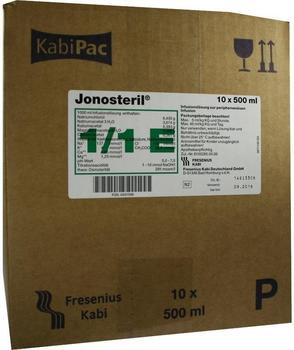 Fresenius Jonosteril Plastik Inf.-lsg. (10 x 500 ml)