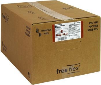 Fresenius Isotonische NACL Free Flex Infusionsbeutel (30 x 250 ml)