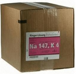 Deltaselect Ringer Lösung Plastik (10 x 500 ml)