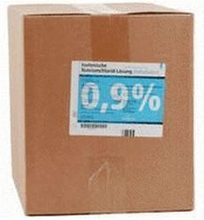 Deltaselect Kochsalzlösung 0,9 % (10 x 1000 ml)