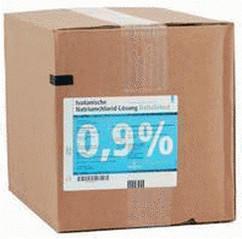 Deltaselect Kochsalzlösung 0,9 % Plastik (10 x 500 ml)